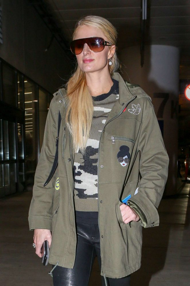 Paris Hilton out in Los Angeles