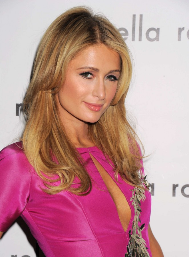 Paris Hilton - Pamella Roland Fall Fashion Show 2016 in New York