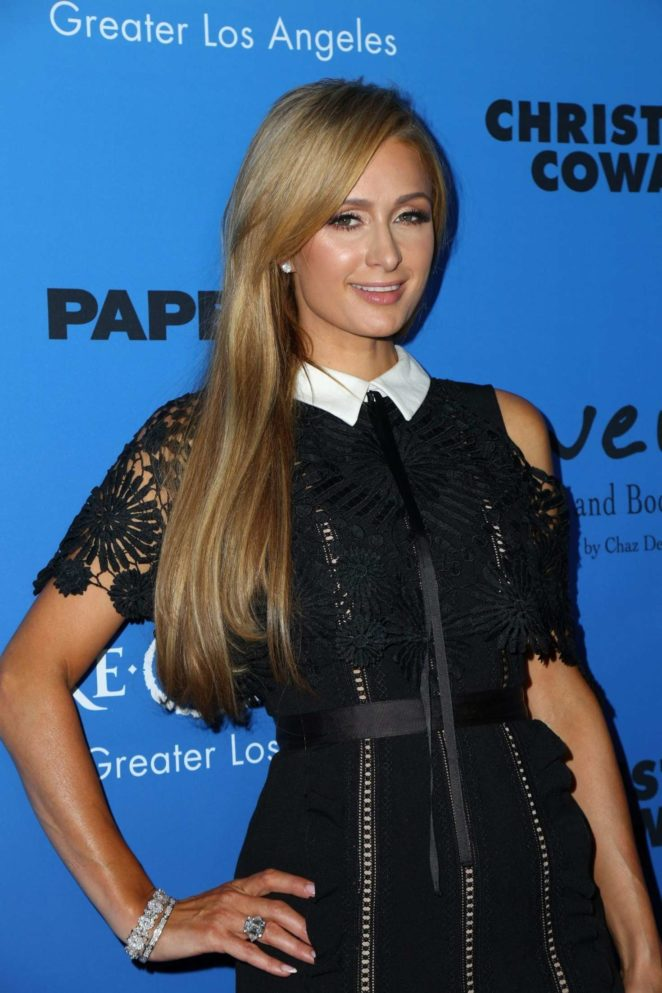 Paris Hilton - PAPER Magazine Runway Benefit for Make-A-Wish Foundation in LA