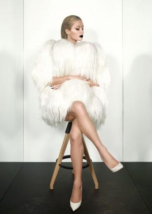 Paris Hilton - Paper Magazine (Winter 2015)