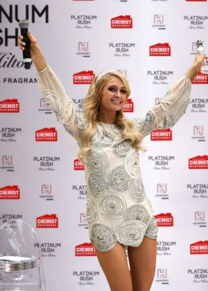Paris Hilton - Paris Hilton Platinum Rush Fragrance Launch in Melbourne