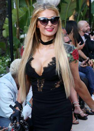 Paris Hilton - Philipp Plein Resort Collection in Cannes