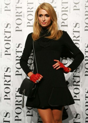Paris Hilton - Ports 1961 Fashion Show at Shanghai Fashion Week