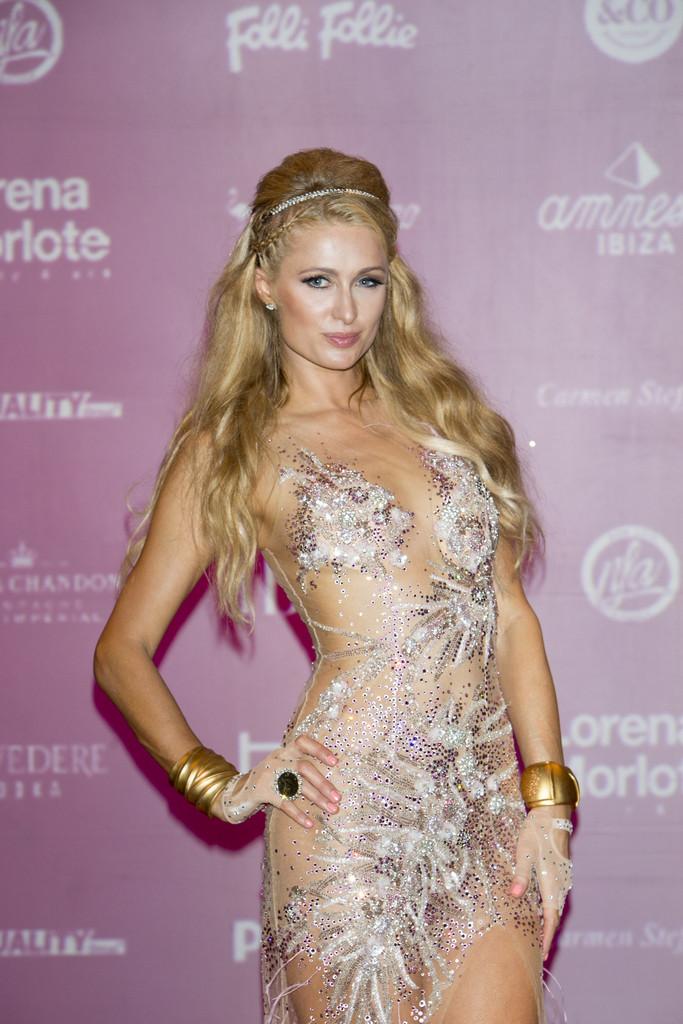 Paris Hilton - Presents 'Foam & Diamonds' in Ibiza