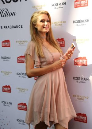 Paris Hilton - Promoted her new perfume in Sydney