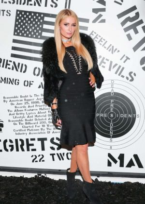 Paris Hilton - Revolve Launch: MadeWorn x Roc96 Capsule in LA