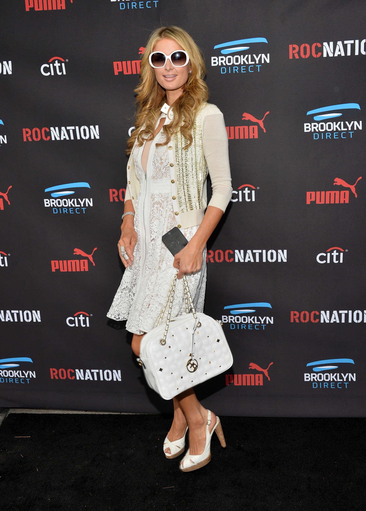 Paris Hilton 2015 : Paris Hilton: Roc Nation Grammy Brunch 2015 -17