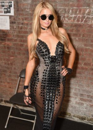 Paris Hilton - The Blonds show at New York Fashion Week 2017