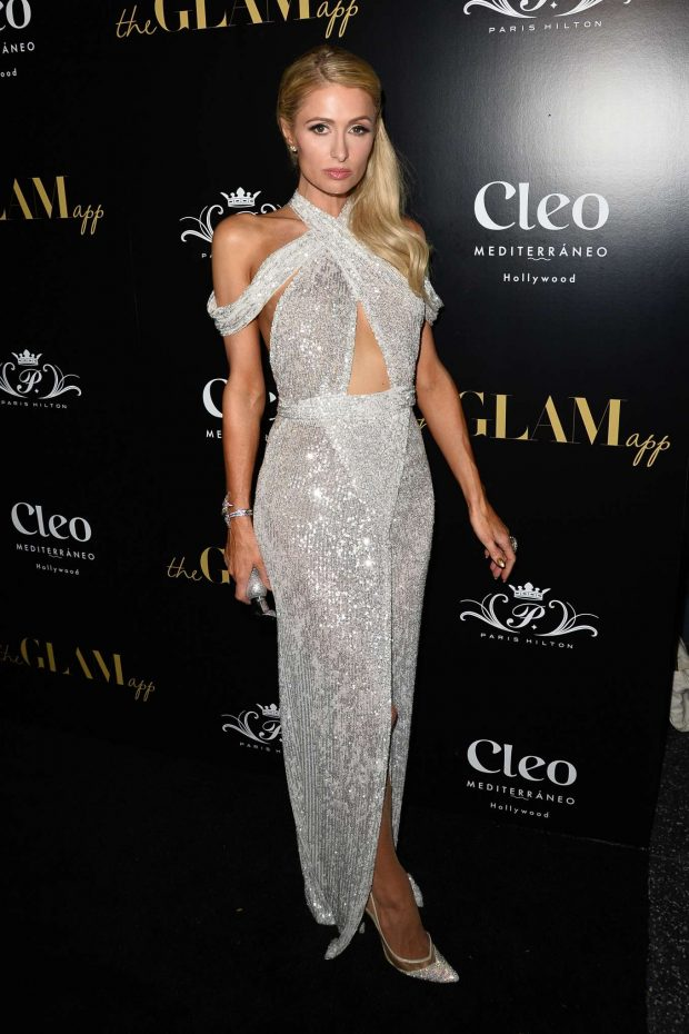 Paris Hilton: The Glam App Launch-01