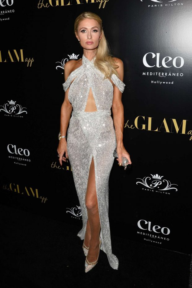 Paris Hilton: The Glam App Launch-03