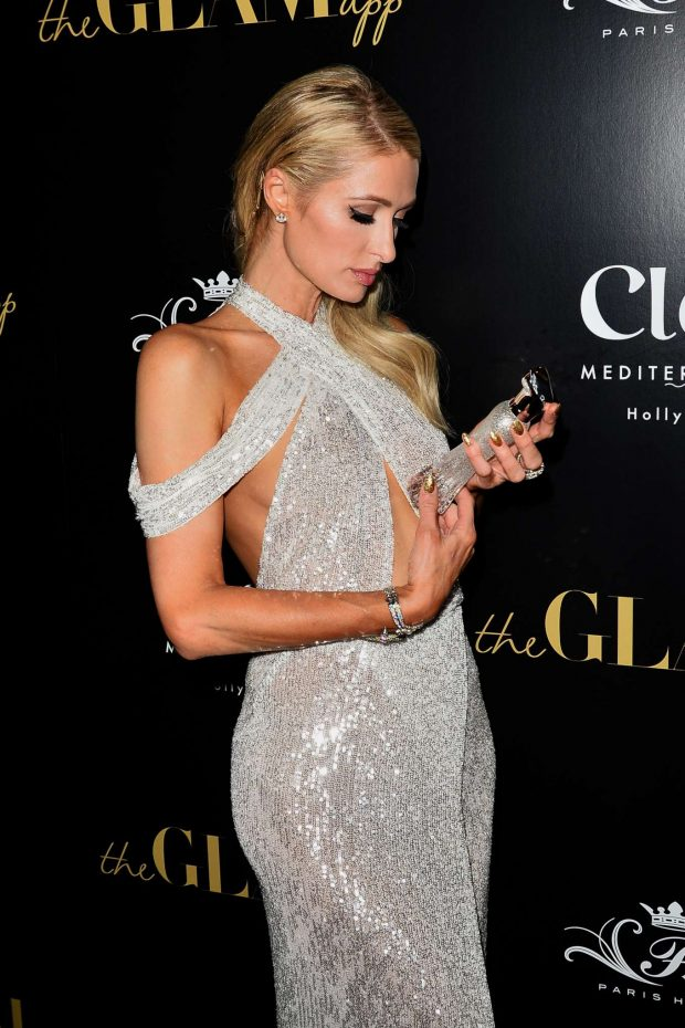 Paris Hilton: The Glam App Launch-05