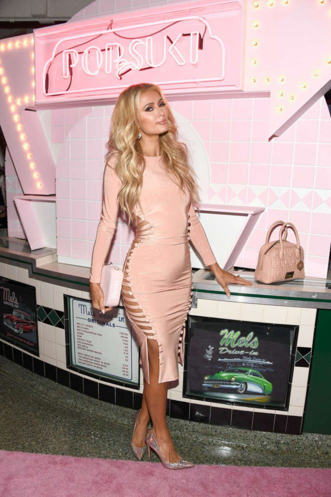 Paris Hilton: The Launch Of POP and SUKI -01
