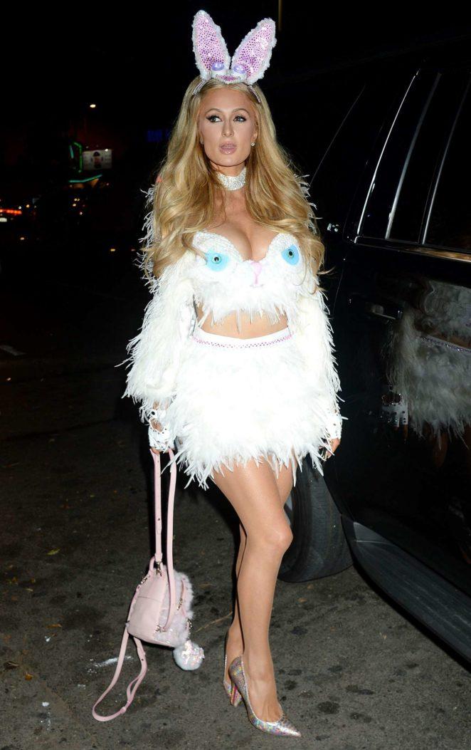 Paris Hilton: Treats Magazine 7th Halloween Party -01