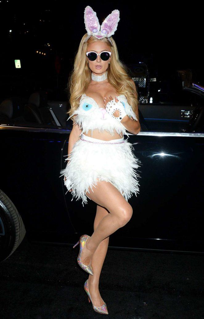 Paris Hilton: Treats Magazine 7th Halloween Party -10