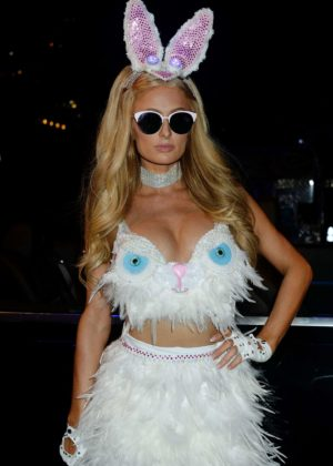 Paris Hilton - Treats! Magazine 7th Halloween Party in Los Angeles