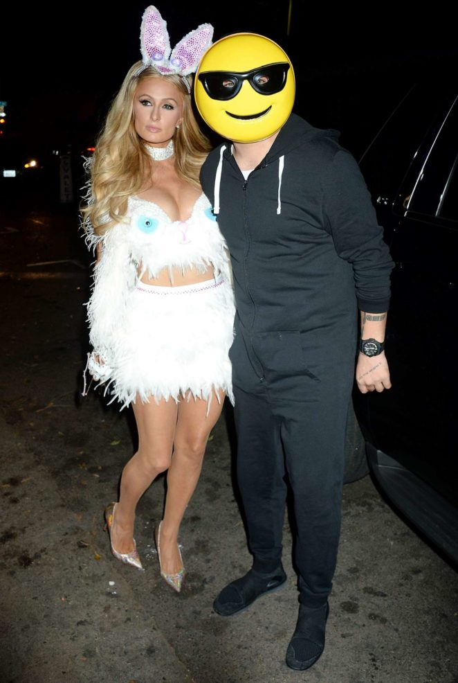 Paris Hilton: Treats Magazine 7th Halloween Party -12