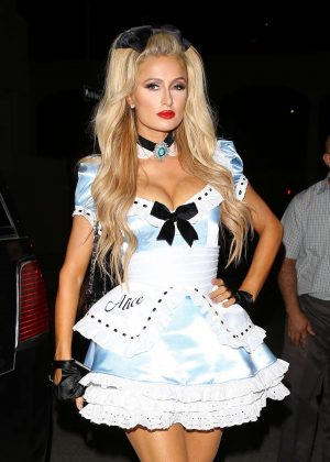 Paris Hilton - Trick or treats! 6th Annual treats! Magazine Halloween Party in LA