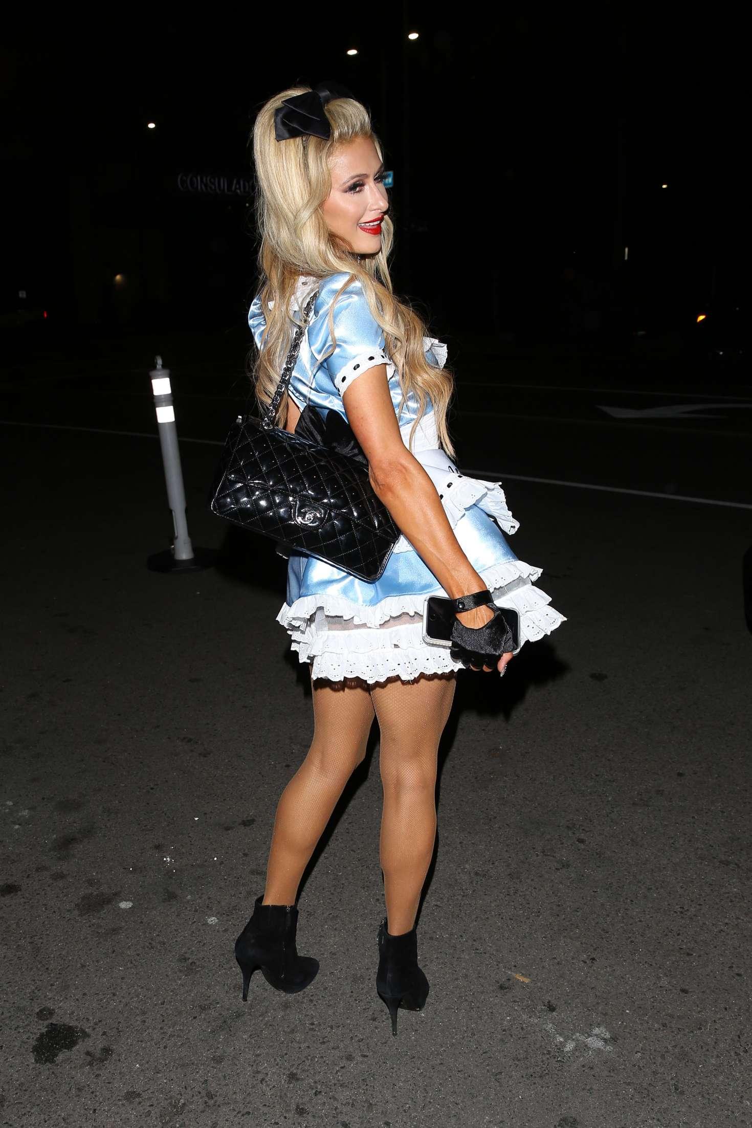 Paris Hilton: Trick or treats 6th Annual treats Magazine ...
