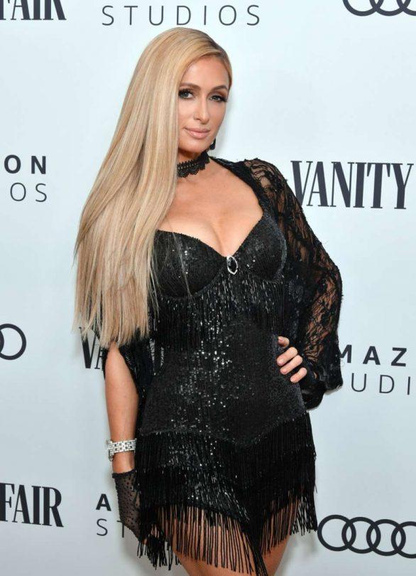 Paris Hilton - Vanity Fair x Amazon Studios Awards Season Celebration in LA
