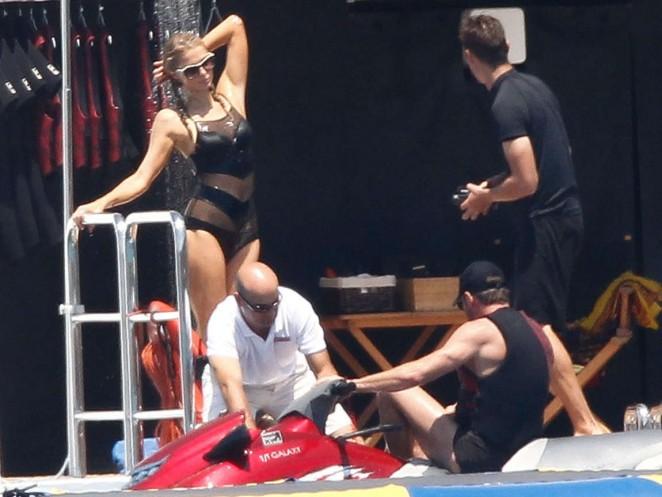 Paris Hilton in Swimsuit in Spain