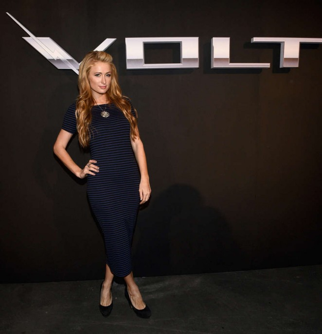 Paris Hilton - West Coast Reveal Of The New 2016 Next Generation Chevrolet Volt in LA