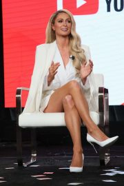 Paris Hilton - YouTube segment of the 2020 Winter TCA Tour in Pasadena