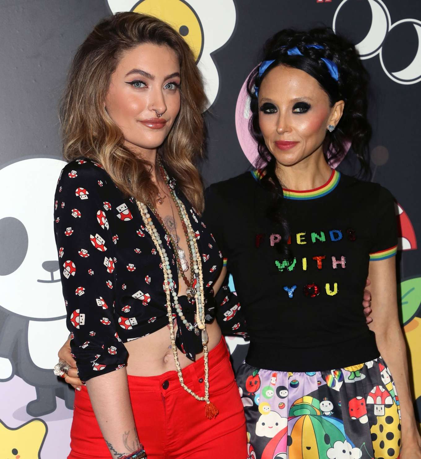 Paris Jackson 2019 : Paris Jackson – alice + olivia by Stacey Bendet x FriendsWithYou Collection-06