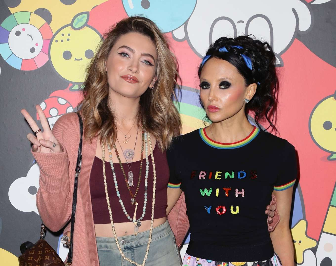 Paris Jackson 2019 : Paris Jackson – alice + olivia by Stacey Bendet x FriendsWithYou Collection-17