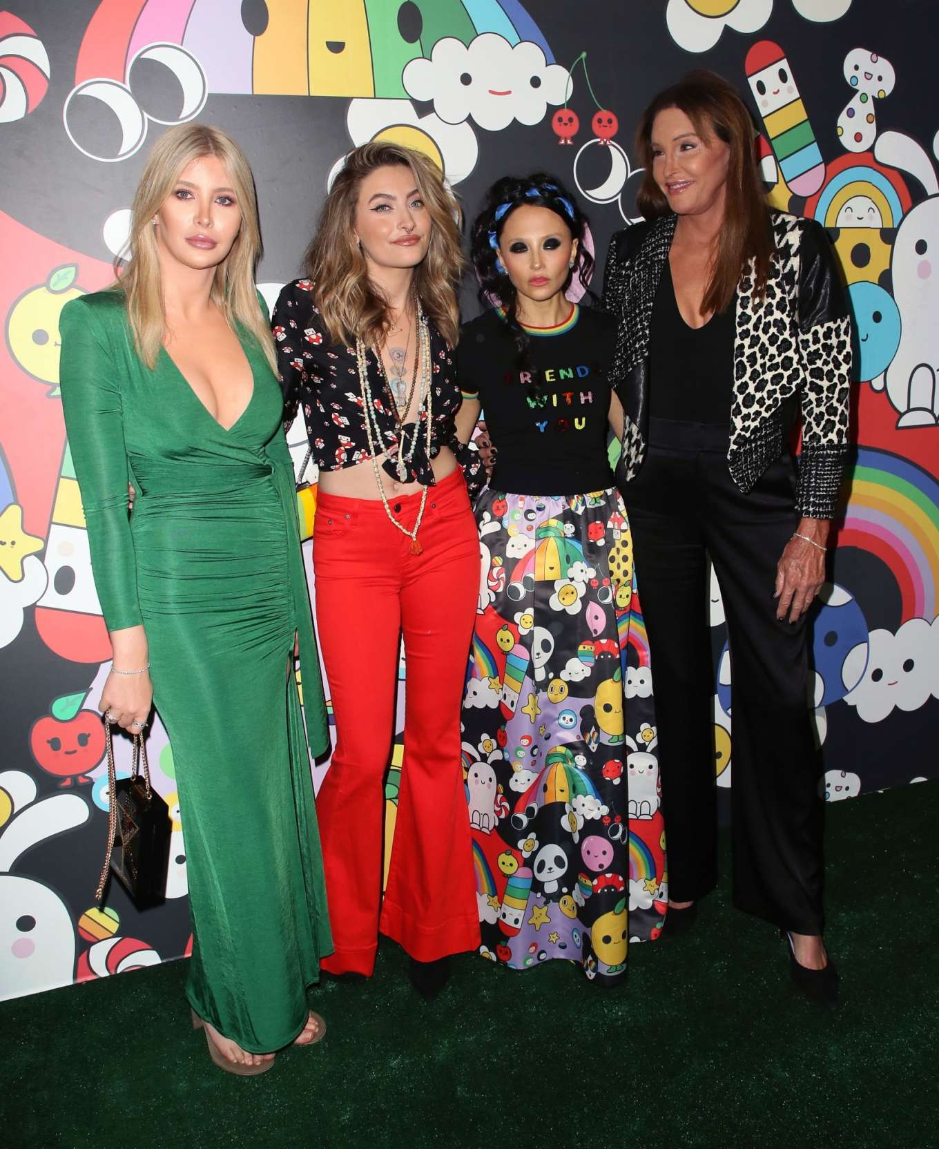 Paris Jackson 2019 : Paris Jackson – alice + olivia by Stacey Bendet x FriendsWithYou Collection-20