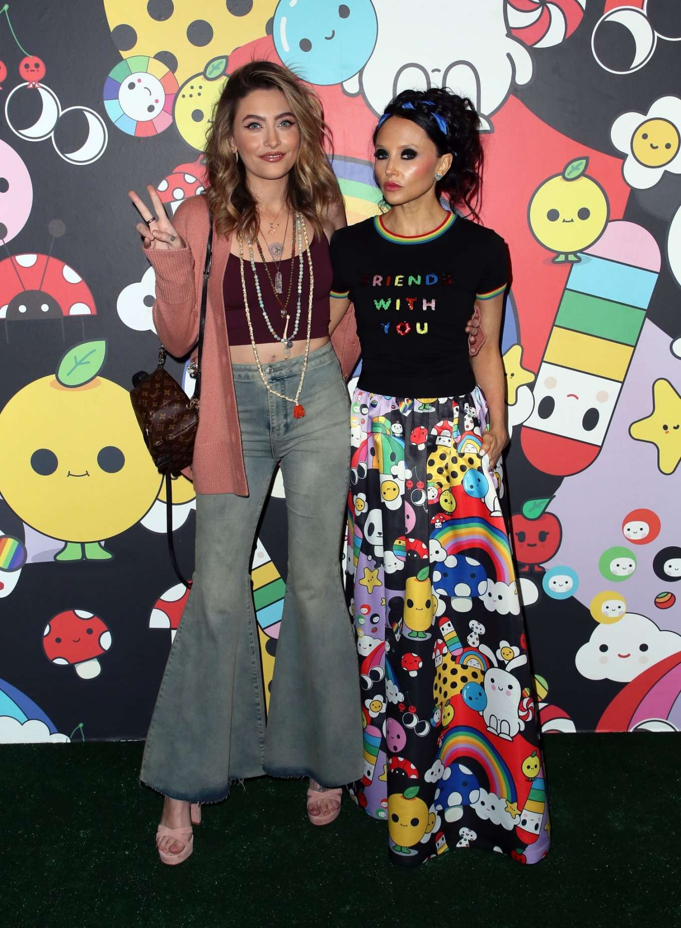Paris Jackson 2019 : Paris Jackson – alice + olivia by Stacey Bendet x FriendsWithYou Collection-28