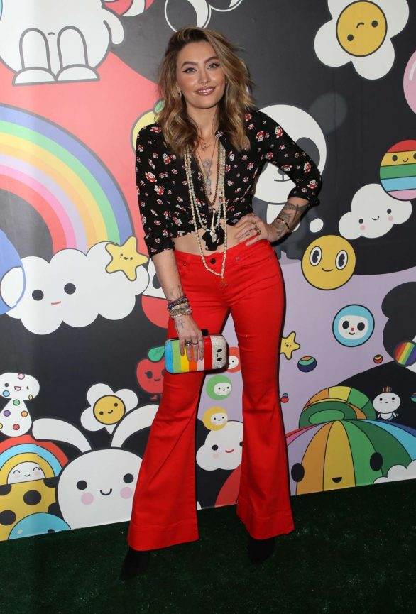 Paris Jackson 2019 : Paris Jackson – alice + olivia by Stacey Bendet x FriendsWithYou Collection-29