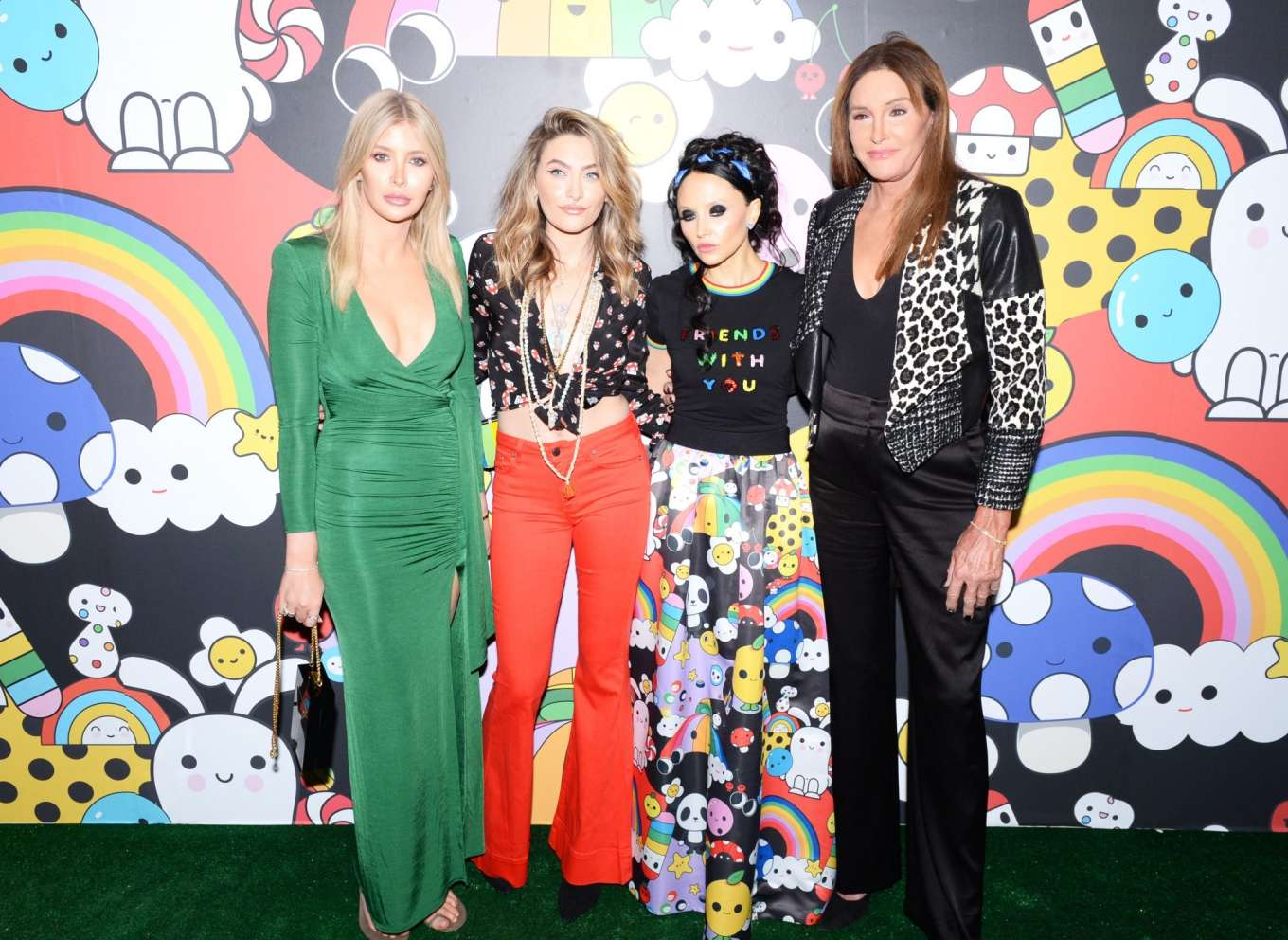 Paris Jackson 2019 : Paris Jackson – alice + olivia by Stacey Bendet x FriendsWithYou Collection-32