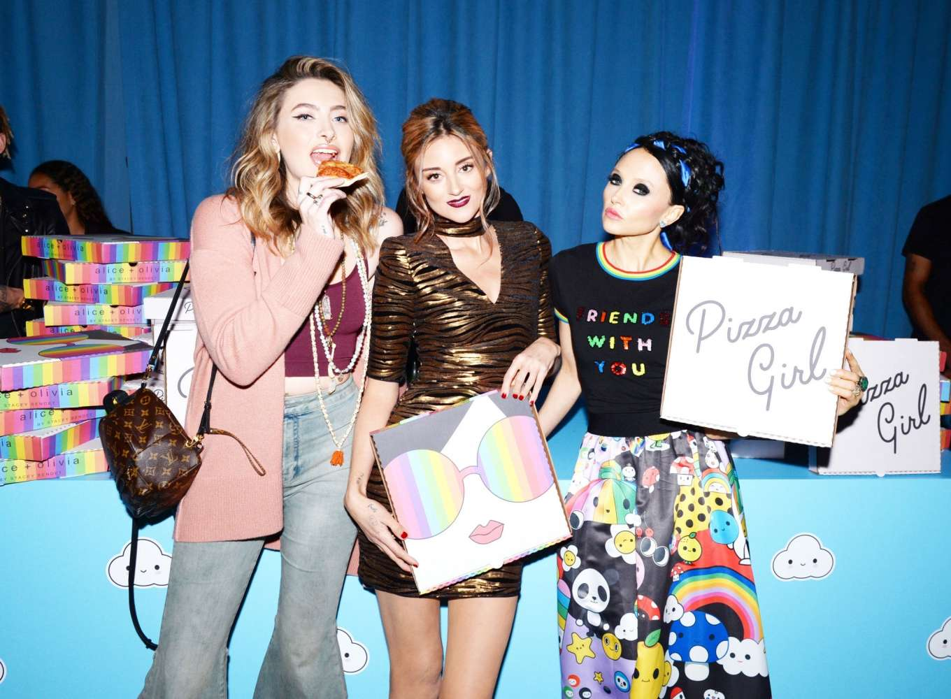 Paris Jackson 2019 : Paris Jackson – alice + olivia by Stacey Bendet x FriendsWithYou Collection-36