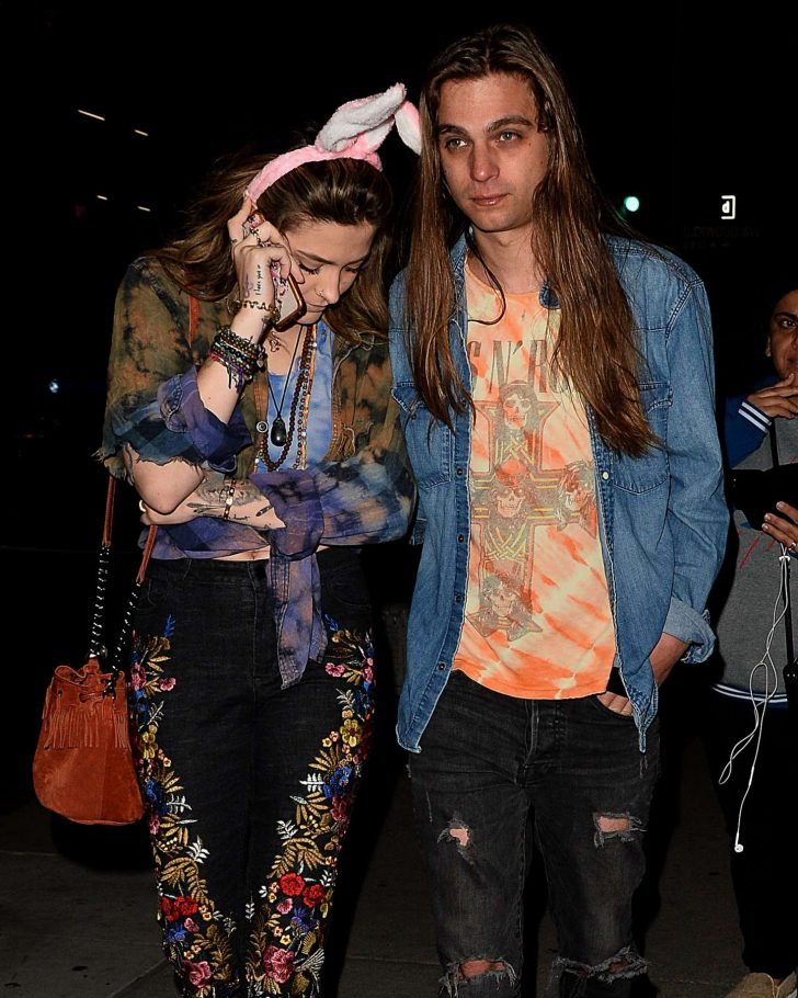 Paris Jackson and Gabriel Glenn - Leaving Largo in LA