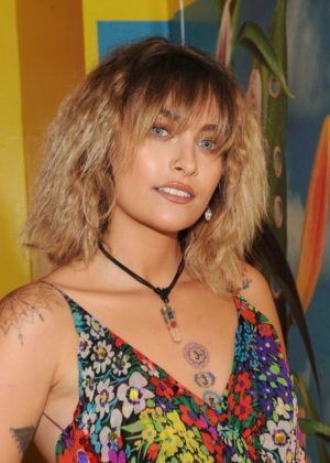 Paris Jackson - Art + Commerce: The Exhibition opening in NYC