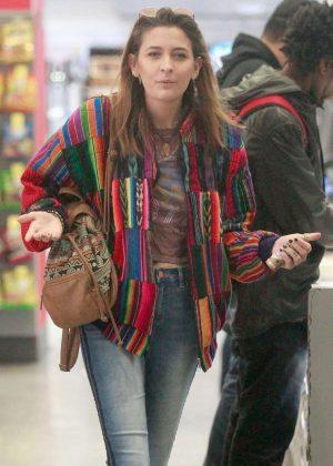 Paris Jackson at Walgreens in Hollywood