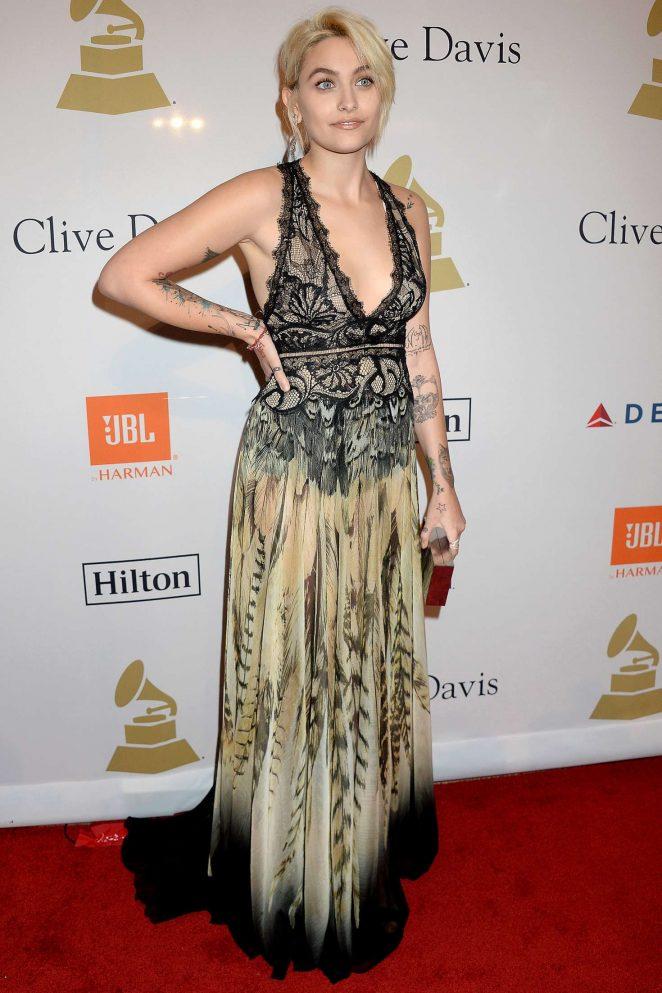 Paris Jackson - Clive Davis Pre-Grammy Party 2017 in Los Angeles