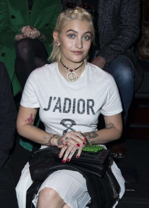 Paris Jackson - Dior Homme Fashion Show Men Fall/Winter 2017 in Paris