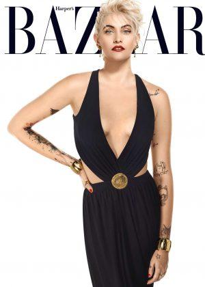 Paris Jackson - Harper's Bazaar US Magazine (April 2017)