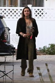Paris Jackson - Heading to Nine Zero One salon in West Hollywood
