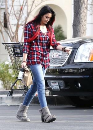 Paris Jackson in Tight Jeans -07
