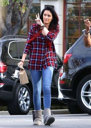 Paris Jackson in Tight Jeans -11