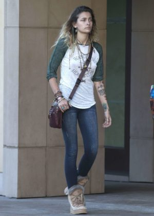 Paris Jackson - Looks casual out in Beverly Hills