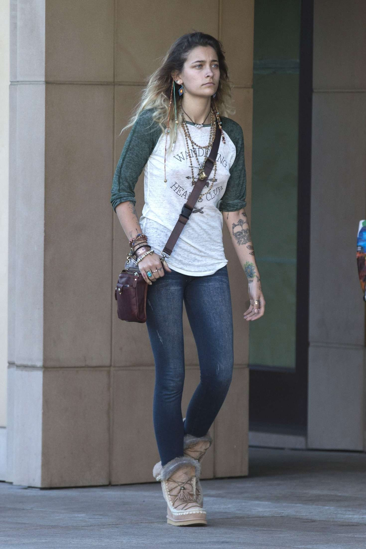 paris jackson � looks casual out in beverly hills � gotceleb