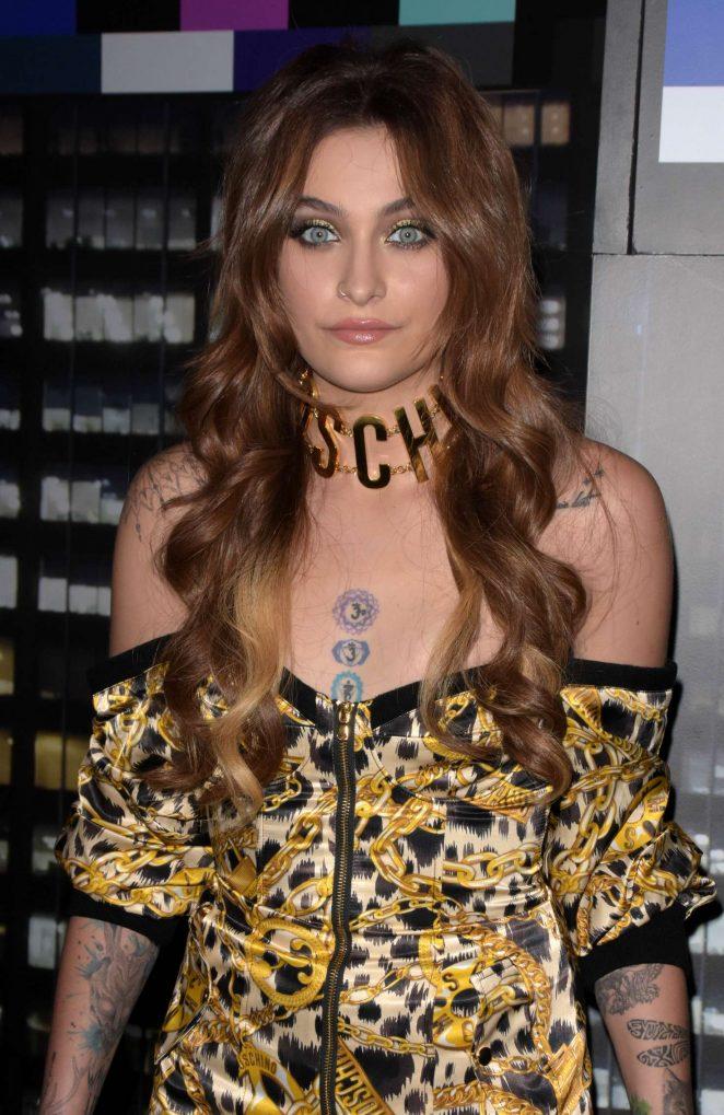 Paris Jackson - Moschino x H&M Fashion Show in New York