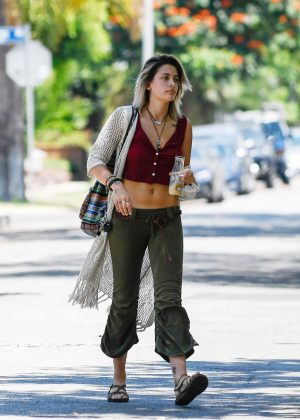 Paris Jackson out and about in Los Angeles