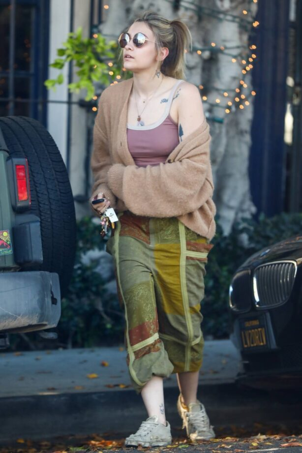 Paris Jackson - Out and about