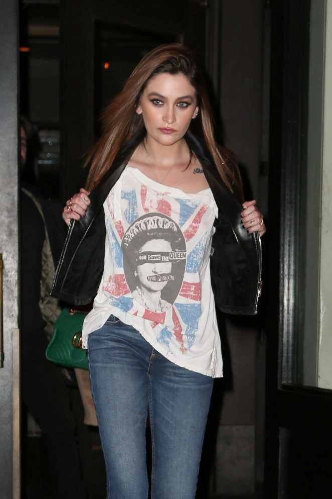 Paris Jackson - Out in New York