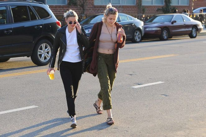 Paris Jackson out in the arts district of Downtown in Los Angeles