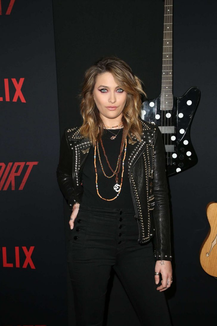 Paris Jackson - 'The Dirt' Film Premiere in Los Angeles